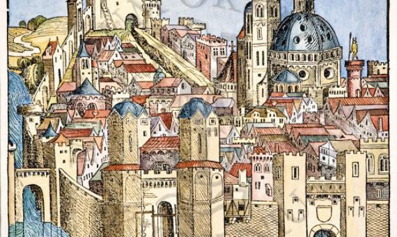 1496 Prawda, że ukończywszy w pięciu latach nauki w Krakowie, udał się do Bononii, miasta w wówczas Weneckiego, stamtąd zaś do Rzymu, później jeszcze do Padwy. Atoli tam na obczyźnie już słynął jako uczony astronom i matematyk. W Bononii bowiem, trudnił się obserwacjami gwiazd, w Rzymie już w 27 roku życia publicznie uczył matematyki i doskonałym tejże umiejętności wykładem, ściągał na swoje lekcyje wielką liczbę uczniów. Do Padwy zaś, gdzie także w księdze akademików wyraźnie jako Polak zapisany jest, mianowicie dla tego się udał, aby uzyskać stopień doktora medycyny, czego też z chlubą dopiął.