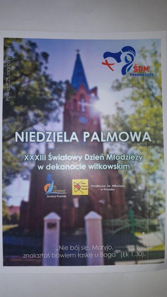 Niedziela Palmowa w XXXIII Światowy Dzień Młodzieży