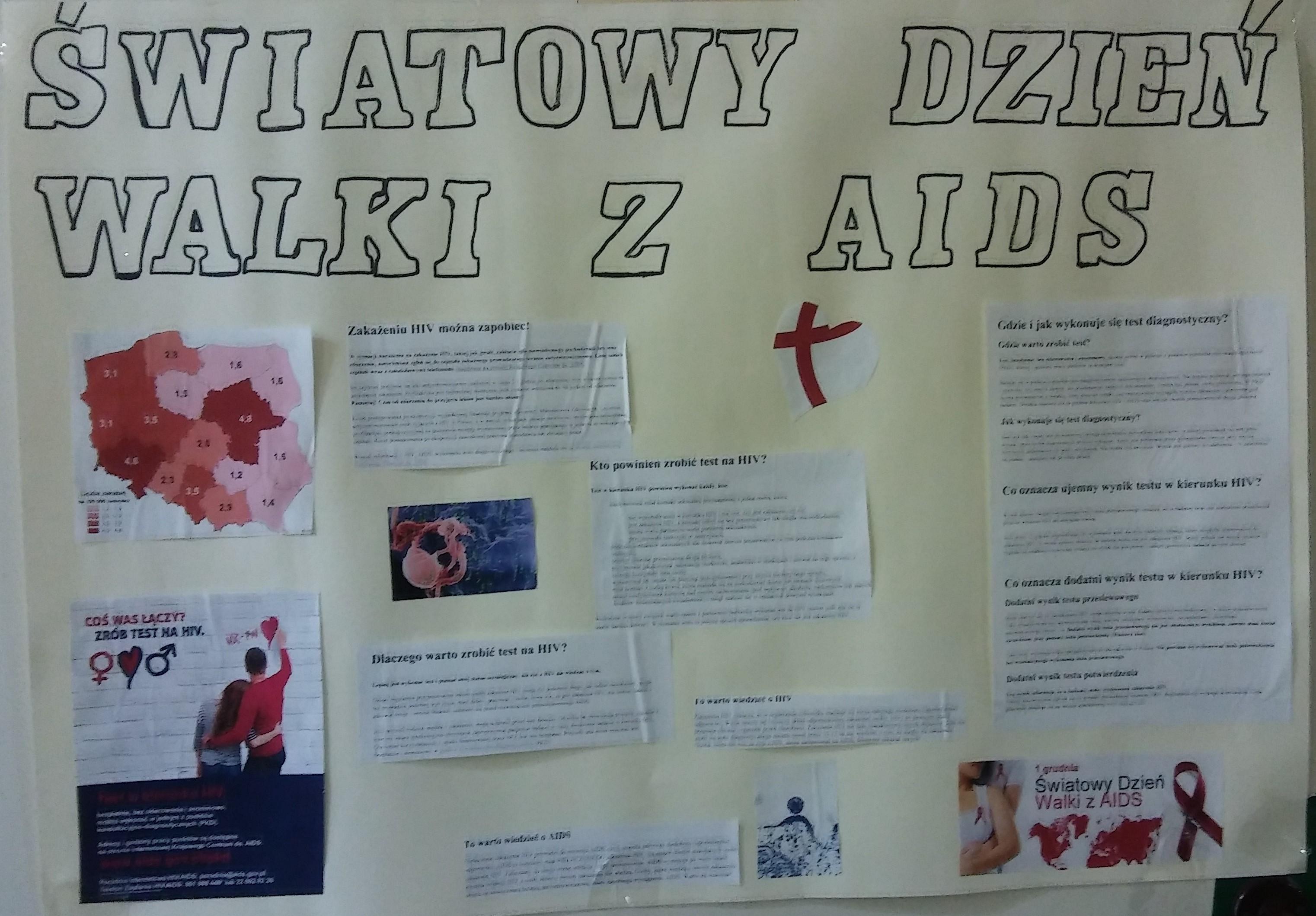 światowy Dzień Walki Z Aids Szkoła Podstawowa Im Mikołaja