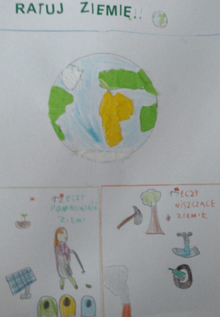 Prace konkursowe z okazji Dnia Ziemi
